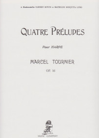 Tournier: Quatre Preludes Pour Harpe, Op. 16 (Harp Solo) (Digital Download)