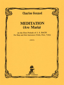Gounod: Meditation (Ave Maria) on First Prelude of J.S. Bach (for Harp & Organ)