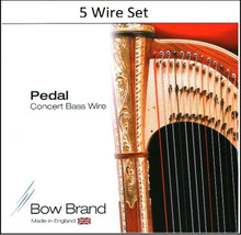 Bow Brand Tarnish Resistant 5 Wire Set (5th Octave G through 6th Octave C)