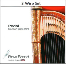 Bow Brand Tarnish Resistant 3 Wire Set (6th Octave E through 6th Octave C)