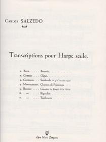Rameau/Salzedo: Gavotte du Temple de la Gloire