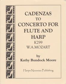 Moore: Cadenzas to Concerto For Flute & Harp K. 299