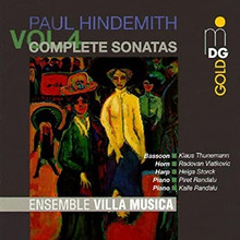 Hindemith: Complete Sonatas Vol. 4, Ensemble Villa Musica (CD)