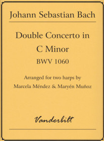Bach/Mendez/Munoz: Double Concerto in C Minor, BWV 1060, for Two Harps (Digital Download)