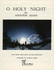 Jaeger/Adam: O Holy Night (solo violin/viola/flute/cello or harp acc) (Digital Download)