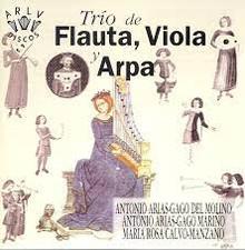 Molino / Marino / Calvo-Manzano: Trio de Flauta, Viola, y Arpa (CD)