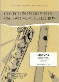 Ancelin: One. Two..More Collection, LUDIONS for Flute Solo