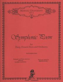 Grandjany, Marcel: Symphonic Poem for Harp, Horn & Cadenza (Piano Reduction)