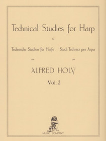 Holy: Technical Studies for Harp, Vol. 2