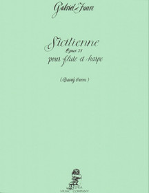 Faure/Owens: Sicilienne Op. 78 for Flute and Harp
