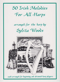 Woods: 50 Irish Melodies For All Harps