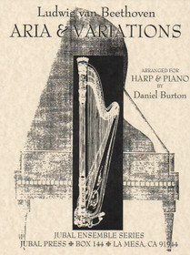 Beethoven/Burton: Aria and Variations for Harp and Piano