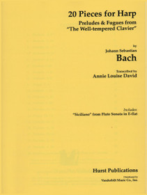 Bach/David: Twenty Pieces