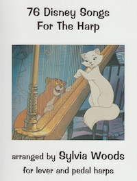Woods: 76 Disney Songs For The Harp