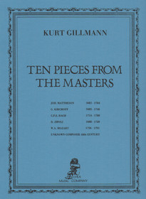 Gillmann:Ten Pieces from the Masters
