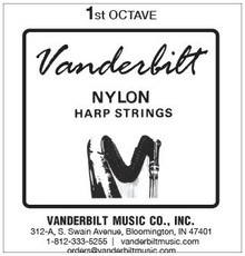 Vanderbilt Nylon, 1st Octave Set (7 strings)