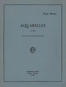 Aquarelles pour Harpe, Roger Bounty