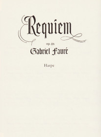 Faure: Requiem, Op. 48 (harp part)