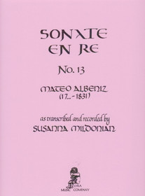 Albeniz/Mildonian: Sonate en Re No. 13