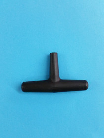 Tuning Key, T-Shaped, Black