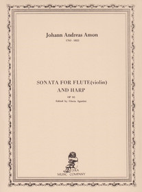 Amon: Sonata for Flute and Harp