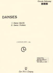 Debussy: Danses Sacree & Profane (Harp and Piano)