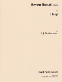 Naderman/Hurst: Seven Sonatinas for Harp