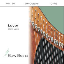 Lever Bass Wire, 5th Octave D