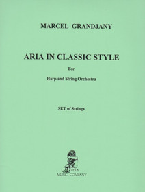 Grandjany: Aria in Classic Style (Set of Strings)