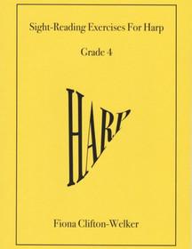 Welker: Sight-Reading Exercises For Harp, Bk. 4