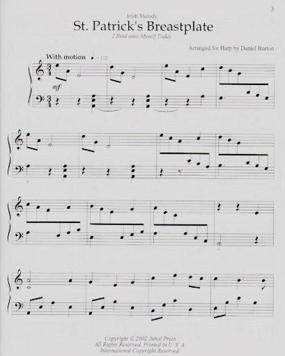Burton: Celtic Hymns for Harp Book 2