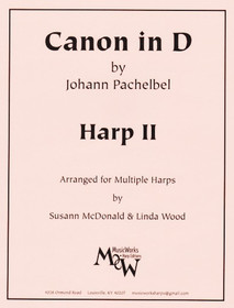Pachelbel/McDonald,Wood, Canon in D, 2nd Harp part