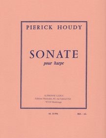 Houdy: Sonate pour harpe