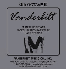 Vanderbilt Tarnish-Resistant 6th octave E