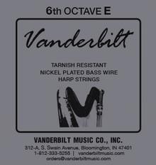 Vanderbilt Tarnish-Resistant 6th octave E