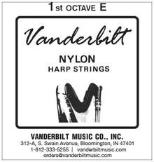 Vanderbilt Nylon, 1st Octave E
