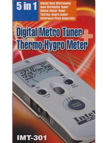 Digital Metro Tuner Thermo-Hygro Meter