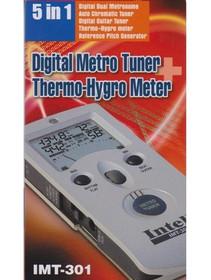 Digital Metro Tuner Thermo-Hygro Meter