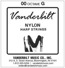 Vanderbilt Nylon, G over 1st octave