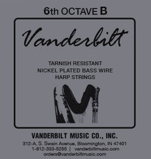 Vanderbilt Tarnish-Resistant 6th octave B