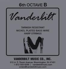 Vanderbilt Tarnish-Resistant 6th octave B