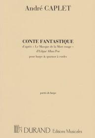 Caplet: Conte Fantastique (Solo Harp Part)