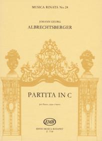 Albrecthsberger: Partita in C (parts)