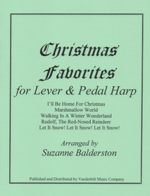 Balderston: Christmas Favorites for Lever Harp