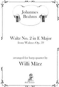 Waltz No. 2 in E Major, Johannes Brahms
