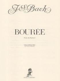 Bach/Salzedo: Bouree