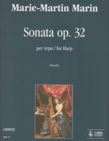 Marin: Sonata op. 32 for Harp