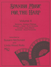 McDonald/Wood, Spanish Music for Harp, Vol. 4