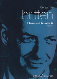 Britten: A Ceremony of Carols, Op. 28 (harp part)