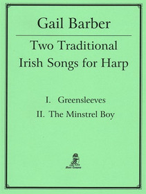 Barber: Greensleeves / The Minsrel Boy (Arranged for Solo Harp With or Without Pedals)